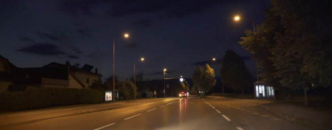 Prometno-svetlobna signalizacija - cestna razsvetljava