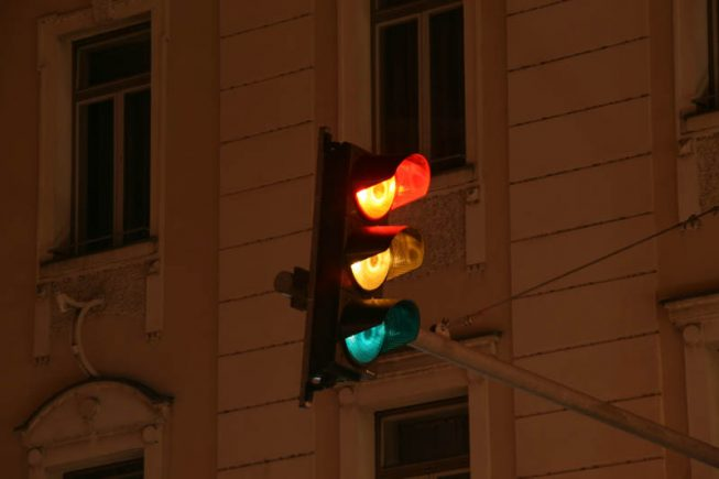 Prometno-svetlobna signalizacija - Semafor